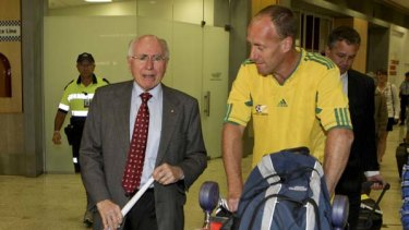 Nothing to blow your trumpet over ... John Howard returned to Sydney last night after being overlooked for the ICC vice-presidency.