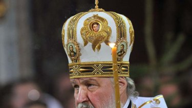 Patriarch Kirill I ... urges Putin to listen to protesters.