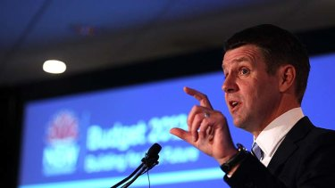 Slashed ... Treasurer Mike Baird has reduced Fire and Rescue NSW's wage cap by $30 million.