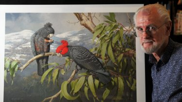 William T Cooper 'loved everything to do with natural history and the environment, and birds were his favourite'.