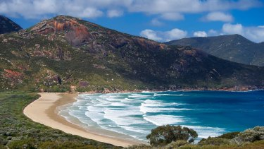 Wilson's Promontory national park.