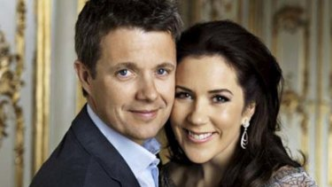 All good . . . Princess Mary's marriage to Prince Frederick is on track.
