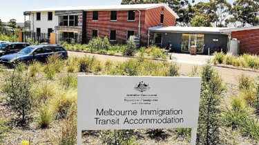 The Immigration Transit Accommodation building in Broadmeadows.