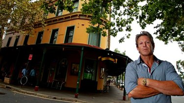 Will not be affected by the changes: Michael Wiggins, owner of the Royal Exhibition Hotel on Chalmers Street.