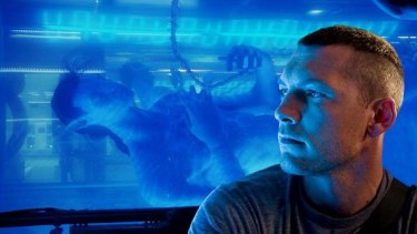 Teen idol ... Sam Worthington as Jake Sully in the film Avatar.
