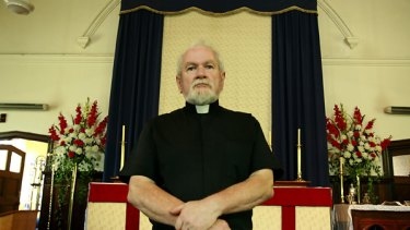 Disaffected Anglican priest Graeme Mitchell hopes and prays he will become a full member of the  Catholic Church.