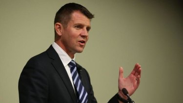 Courting Chinese investment in Barangaroo: NSW Premier Mike Baird.