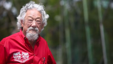 Outspoken: David Suzuki.