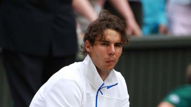 Rafael Nadal ... lost in four sets.