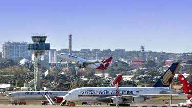 Overhaul planned … the airport remove the split between the domestic and international terminals.
