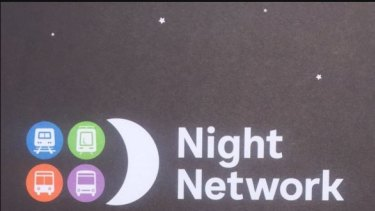 New logo for 24-hour weekend pubic transport