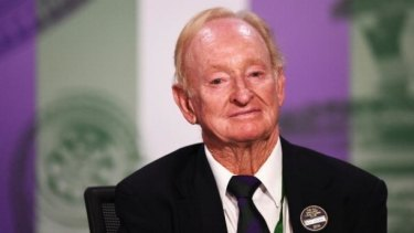 Queensland's legendary tennis star Rod Laver.