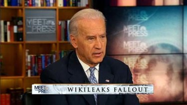 """It makes things more cumbersome"" . . . Joe Biden on <i>Meet the Press</i>."