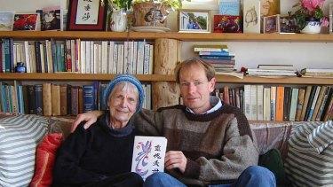 Sean Davison and mother Patricia at her home near Dunedin.