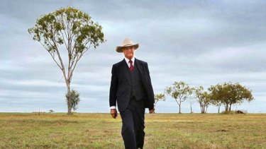 Bob Katter at home in Charters Towers. <i>Picture: Michael Chambers</i>