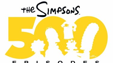 Simpsons 500th Episode celebration.