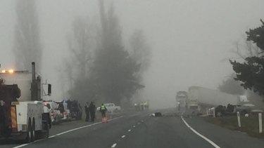 Man dies in head-on collision on Monaro Highway near Williamsdale