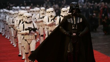 Show me the money: David Prowse played Darth Vader but never gets a cheque.
