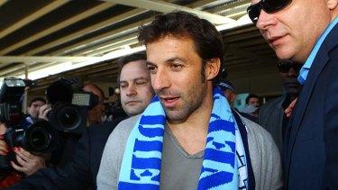 Alessandro Del Piero ... he means business.