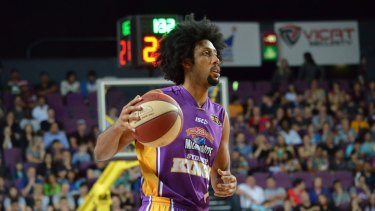 Back from injury: Sydney Kings star Josh Childress.