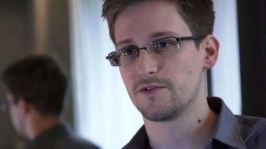 Security contractor Edward Snowden.