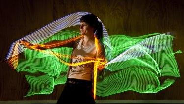 No Lights No Lycra organiser Fiona Harris.
