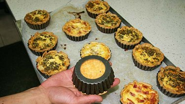 Tips and tricks ... Christopher Thé leaves the bases out of his small tart pans when he bakes quiches. This helps the bottoms to brown.
