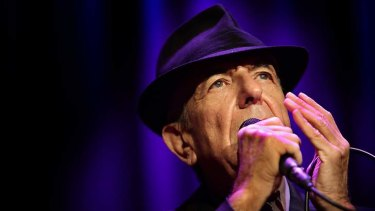 Leonard Cohen 'seemed to thrive on this paradox of distance and intimacy'.