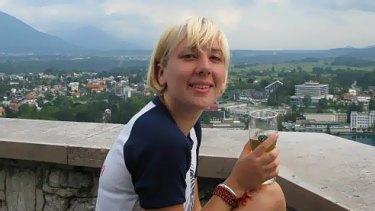 Missing in Croatia: Melbourne backpacker  Britt Lapthorne as seen on her European travels on Facebook.