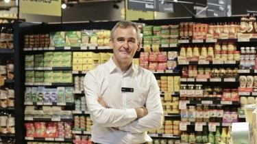 Gutsy move: Woolworths chief executive Brad Banducci.