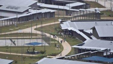 Full ... the Christmas Island detention centre.