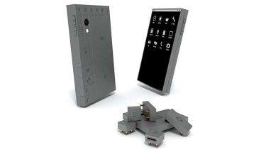 Phonebloks: Pull it apart and put it back together again.
