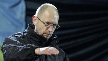 Candidate for prime minister: Arseniy Yatsenyuk