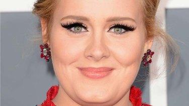 Win in court: singer Adele.