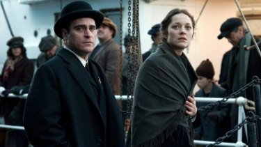 Joaquin Phoenix and Marion Cotillard take the spotlight in <i>The Immigrant</i>.