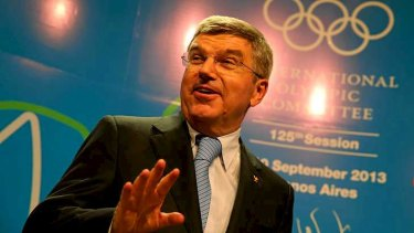 Ninth IOC president: Thomas Bach of Germany is the first gold medallist to lead the Olympic movement.