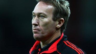 Essendon's former high performance coach Dean Robinson.