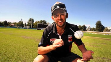 Former Canberra spinner Nathan Lyon broke through with South Australia.