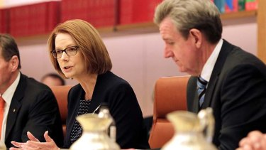 Positive action: Julia Gillard will write to the principal of every Australian school to gain support for her school funding reforms.
