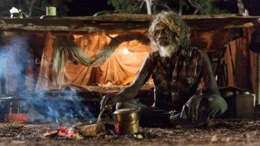 Winner at the Film Critics Circle of Australia Awards ... David Gulpilil in <i>Charlie's Country</i>.