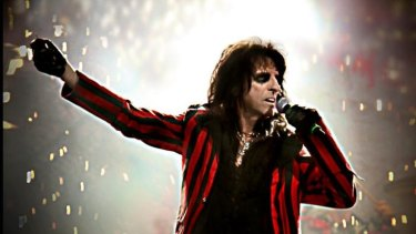 Still rocking: Alice Cooper continues to delight his fans.
