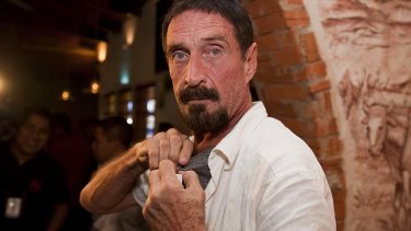 """""""Yesterday was chaotic due to the accidental release of my exact co-ordinates"""" ... John McAfee."""
