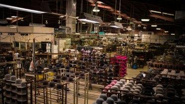 Akubra factory in Kempsey