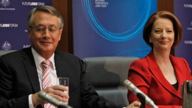 Prime Minister Julia Gillard and Treasurer Wayne Swan hosted the Future Jobs Forum at Parliament House, Canberra.