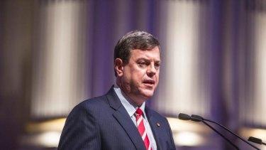 Queensland Treasurer Tim Nicholls.