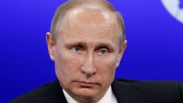 Threat: Russian President Vladimir Putin could cut off Ukraine's gas supply.