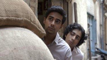 Suraj Sharma and Tony Revolori in 'Umrika'.