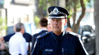 """It made me angry"": Assistant Police Commissioner Stephen Fontana."
