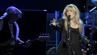 Fleetwood Mac play a sold-out Rod Laver Arena in 2009.