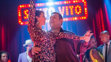 Nick Frost stars in <i>Cuban Fury</i>, a romantic comedy about a sad sack who returns to his first love, salsa dancing, to try to win the heart of his new love, his boss.